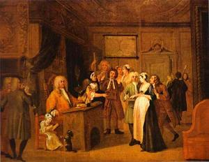 William Hogarth - La Denuncia