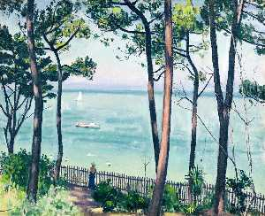 Albert Marquet - Jardín it Pyla