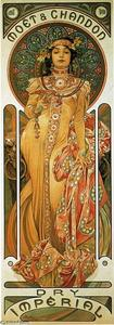 Alphonse Maria Mucha - Moet & Chandon Imperial secco