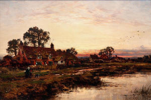 Benjamin Williams Leader - WORCESTERSHIRE SUL FIUME COTTAGE