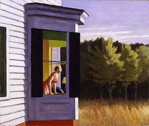 Edward Hopper - Cape Cod Mattina - (Arte su tela)