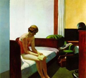 Edward Hopper - hotel camera