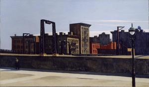 Edward Hopper - loop del ponte di manhattan