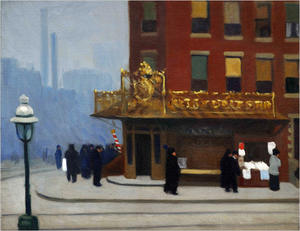 Edward Hopper - a New York angolo  angolo  salone