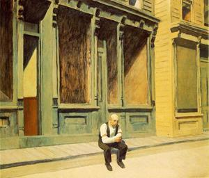 Edward Hopper - domenica