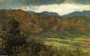Frederic Edwin Church - Red Hills vicino a Kingston Giamaica