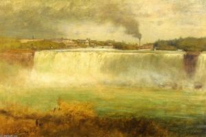 George Inness - Cascate