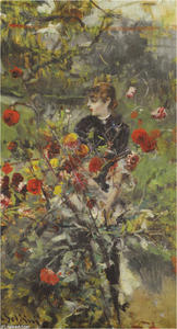 Giovanni Boldini - il estate rose