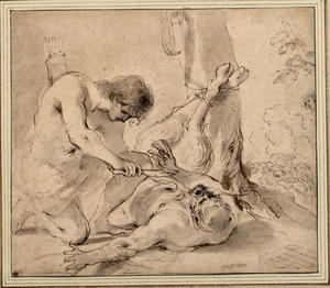 Guercino (Barbieri, Giovanni Francesco) - Apollo e Marsia