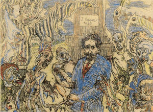James Ensor - Demons Teasing Me