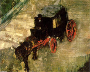 James Ensor - Il Cab