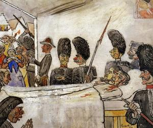 James Ensor - I gendarmi 2