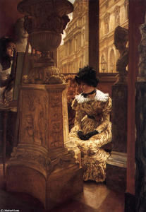 James Jacques Joseph Tissot - nel louvre