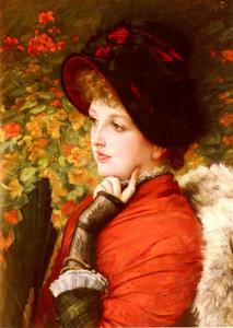 James Jacques Joseph Tissot - Tipo Of Beauty