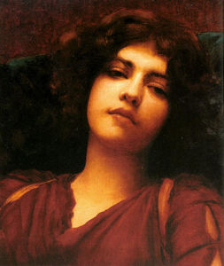 John William Godward - Fantasticheria studiare