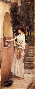 John William Waterhouse - Un offerta romano