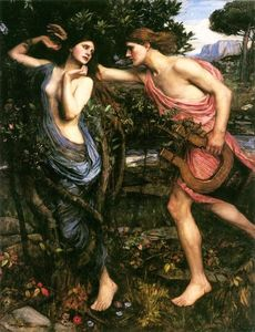 John William Waterhouse - Apollo e Dafne