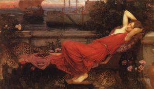 John William Waterhouse - Arianna