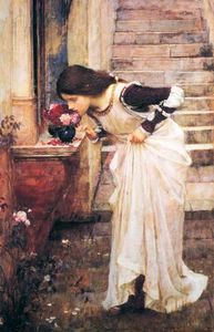 John William Waterhouse - Al Santuario