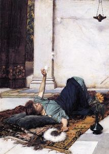 John William Waterhouse - Dolce Far Niente 1