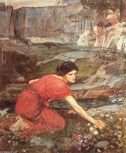John William Waterhouse - Fanciulle raccolta studiare