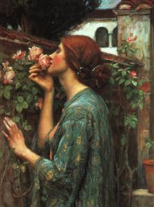John William Waterhouse - mia dolce rose