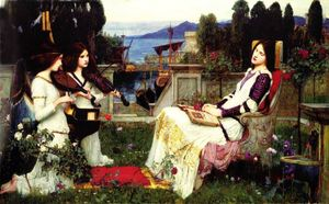 John William Waterhouse - Santa Cecilia