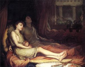 John William Waterhouse - sonno e la sua metà fratello morte