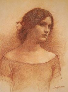 John William Waterhouse - Studio per la lady clare Piccolo