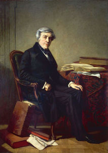 Thomas Couture - Jules Michelet
