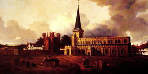 Thomas Gainsborough - Cattedrale di st . Mary's Chiesa Hadleigh
