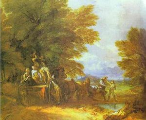 Thomas Gainsborough - La raccolta carro