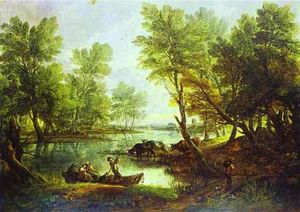 Thomas Gainsborough - Veduta di King-s Bromley-on-Trent , Staffordshire