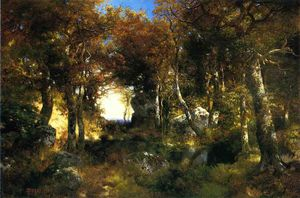 Thomas Moran - Il Woodland piscina