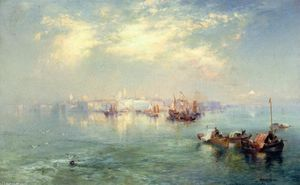 Thomas Moran - Vera Cruz Harbor, Messico