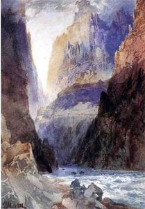 Thomas Moran - Zion Canyon