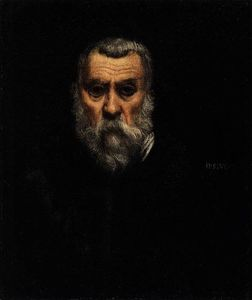 Tintoretto (Jacopo Comin) - autoritratto 1
