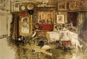 William Merritt Chase - Il Tenth Street Studio 1