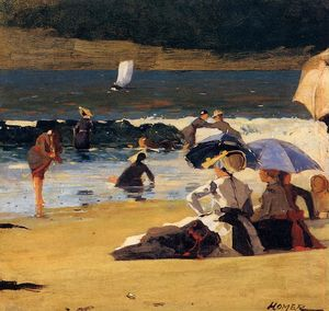 Winslow Homer - By the Shore