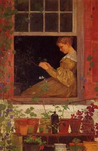 Winslow Homer - Morning Glories