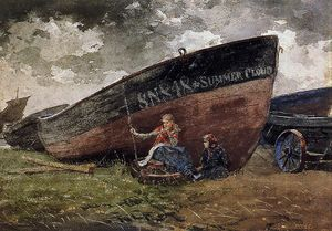 Winslow Homer - estate nuvola