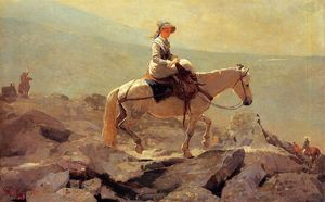 Winslow Homer - Il Bridle Path Bianca  monumenti