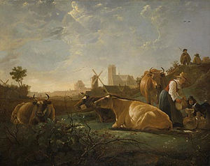 Aelbert Jacobsz Cuyp - The-Large-Dort