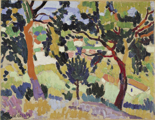 il estaque di André Derain (1880-1954, France) | Copia Pittura | WahooArt.com