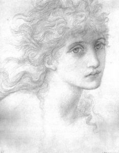 Edward Coley Burne-Jones - Ritratto of Maria Zambaco 1