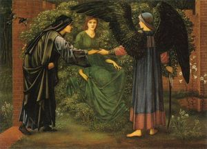 Edward Coley Burne-Jones - il cuore del rose