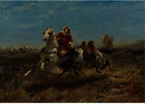 Adolf Schreyer - The Chase