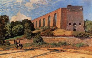 Alfred Sisley - Acquedotto a Marly