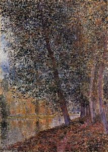 Alfred Sisley - Rive Del Loing autunno