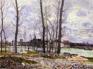 Alfred Sisley - Alluvione a Moret sur Loing